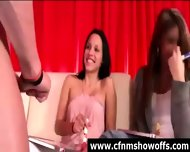 Cfnm Girls With Amateur Naked Guy In Cock Show - scene 1