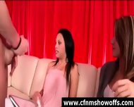 Cfnm Girls With Amateur Naked Guy In Cock Show - scene 8