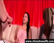 Cfnm Girls With Amateur Naked Guy In Cock Show - scene 9
