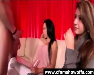 Cfnm Girls With Amateur Naked Guy In Cock Show - scene 11