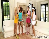 Dildo Playing Teen Gals - scene 1
