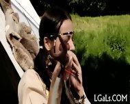 Leggy Cuties Are Licking - scene 1