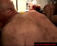 Horny Amateur Straight Bear Gay Sucking - scene 8