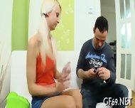 Chick Having Hot Group Sex - scene 10