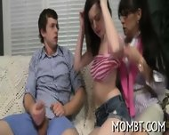 Sensational Blowjob During Threesome - scene 7