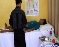 Asian Md Gives Outdoor Enema To Twink - scene 8