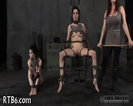 Tormenting Babe S Twat With Toy - scene 8