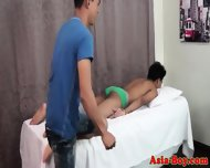Young Asian Teen Loves Rimming Butt - scene 1