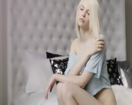 Blond Angel And Art Of Masturbation - scene 1