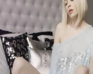 Blond Angel And Art Of Masturbation - scene 2