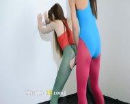 Hairy Lesbians In Nylon Stocking Loving - scene 12