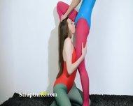 Hairy Lesbians In Nylon Stocking Loving - scene 4