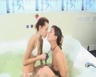 Hot Bath And Ultracute Teenagers - scene 5