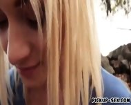 Blonde Czech Girl Alive Bell Facialed For Some Cash - scene 3