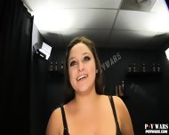 Young Chubby Girl Sucks And Fucks 5 Complete Strangers And Swallows Each Of Their Cum - scene 1