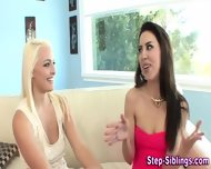 Teen Eats Stepsis Pussy - scene 1