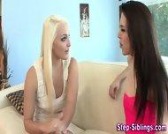 Teen Eats Stepsis Pussy - scene 2