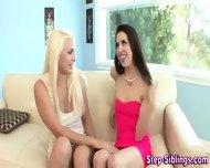 Teen Eats Stepsis Pussy - scene 4