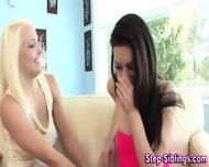 Teen Eats Stepsis Pussy - scene 6