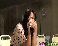 Teen Takes Anal Beads - scene 12