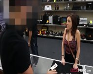 Nice Boobs Chick Fucked For The Chain She Pawned - scene 1