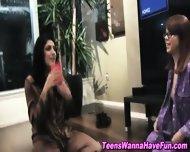 Lesbian Teens Kissing - scene 6