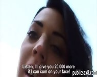 Real Amateur Czech Girl Banged And Facialed For Money - scene 11