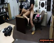 Dude Banged This Hot Latina Chick In His Pawnshop For Money - scene 11
