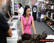 Dude Banged This Hot Latina Chick In His Pawnshop For Money - scene 3