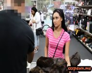 Dude Banged This Hot Latina Chick In His Pawnshop For Money - scene 4