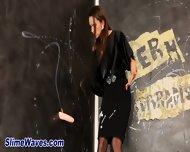 Horny Euro Glamour Slut - scene 1