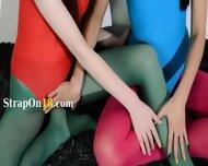 Hairy Lesbians In Nylon Pants Bang - scene 1