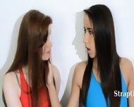 Hairy Lesbians In Nylon Pants Bang - scene 2