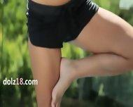 Brunette Miss World Enjoy Coitus For A Cam - scene 1