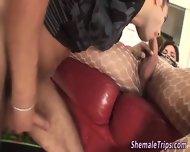 Latina Tgirl Slams Ass - scene 1