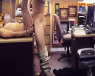 Coed Selling Her Books At The Pawnshop Then Got Fucked - scene 7