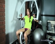 Jessica Work Out - scene 2