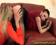 Pissing Lesbo Eaten Out - scene 11
