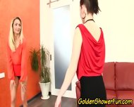 Pissing Lesbo Eaten Out - scene 4