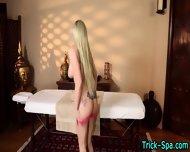 Blonde Babe Gets Fingered - scene 2