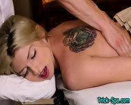 Blonde Babe Gets Fingered - scene 6