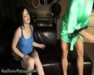Asian Masseuse Fingered - scene 3