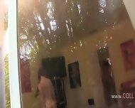Three Young Schoolgirls Fucking With Burglar - scene 2