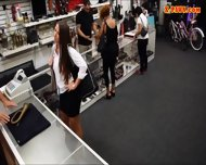 Hot Babe Trying To Pawn A Horn She Stole Then Got Pounded - scene 1