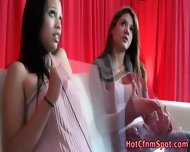 Clothed Babe Blows Cock - scene 12