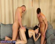 Bisexual Stud Sprays Pecs - scene 9