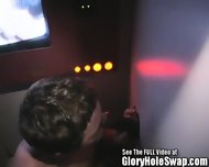 White Boy Sucks Black Cock In Glory Hole - scene 7