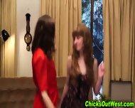 Amateur Lesbians Pissing - scene 6