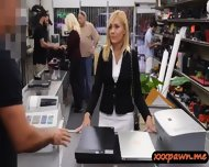 Milf Goes To A Pawnshop And Agreed To Have Sex To Earn Cash - scene 2