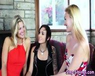 Teen Stepsiblings 3some - scene 1